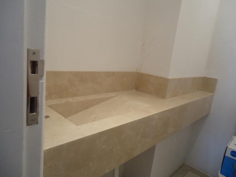 Cuba Esculpida para Banheiro  Pedras Veneza -> Cuba Banheiro Marmore