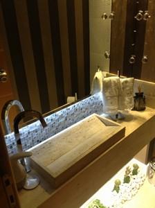 Cuba esculpida para banheiro pedras veneza for Empresas de granito