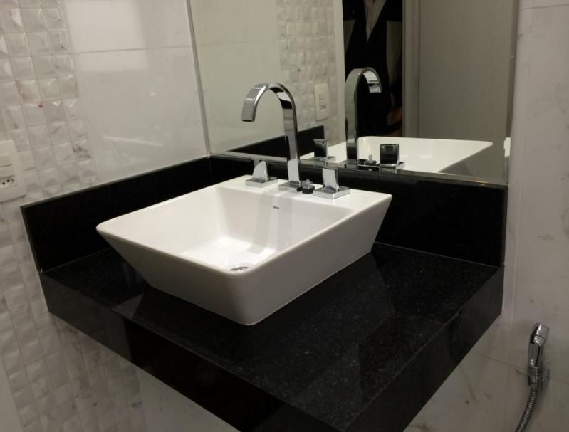 Populares Pias de Granito para Banheiro Jardim São Luiz - Pia de Granito  EE47