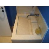 cuba esculpida para banheiro Piqueri