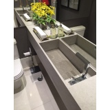 cubas esculpidas limestone para banheiro Vila Andrade